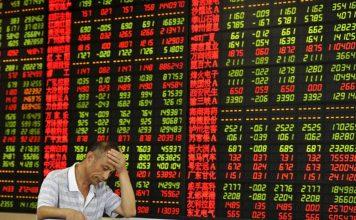 aCổ phiếu châu Âu giảm vì dữ liệu của Trung Quốc