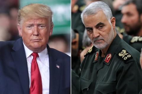 Mỹ tuyên chiến với Iran