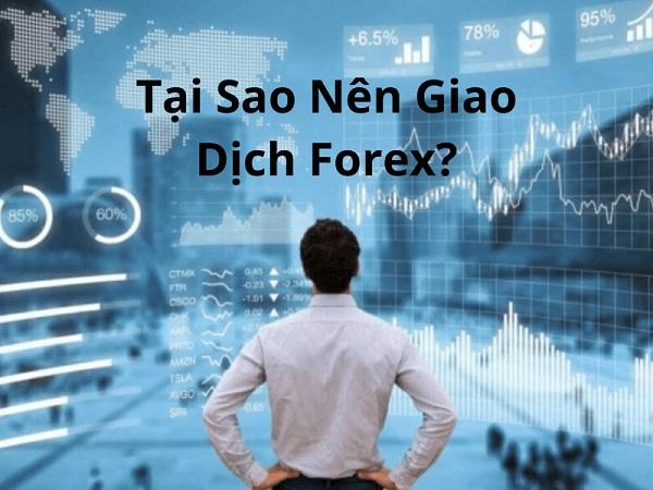 Tại sao nên tham gia giao dịch Forex