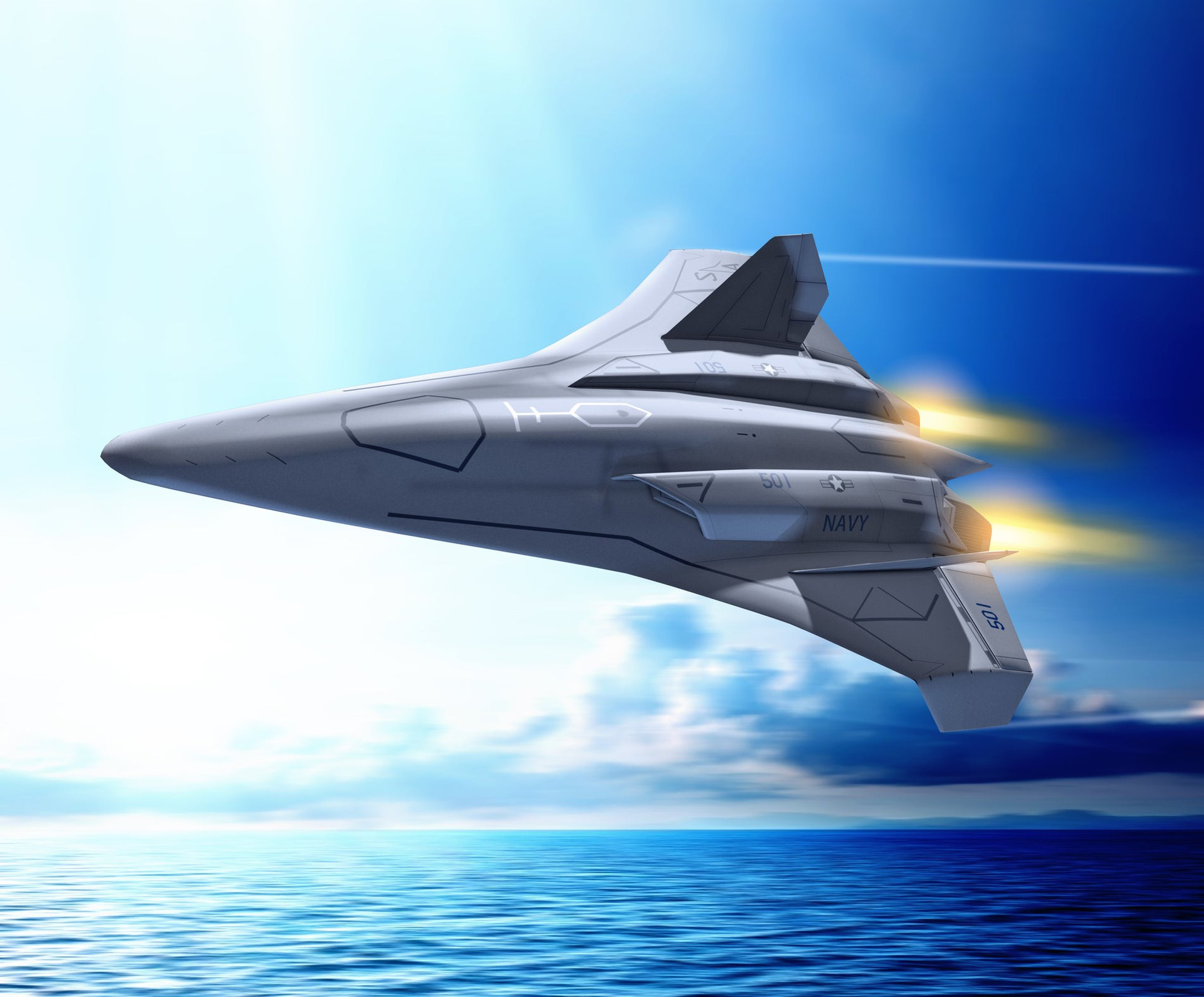 Artist Concept Of What A Future Military Fighter Plane Might Look Like Image Source Getty Images
