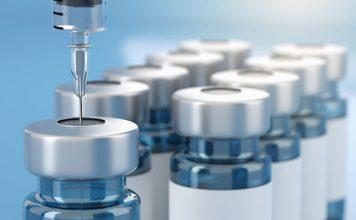 Rendering 3d Vaccine Medicine Bottle Flu Vaccine Anti-vaccination And Covid-19